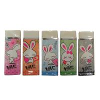 Buy cheap back to school eraser for students school use in paper wrap packing from wholesalers