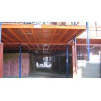 Wholesale Costum Selective Powder Coated or Galvanized Mezzanine Floor System, 200-1000kg / sqm from china suppliers