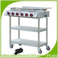 Wholesale Portable stainless steel gas barbecue grill from china suppliers
