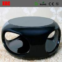 Wholesale Patio Fiberglass Coffee Table Commercial Hollow Tea Table Fiberglass Hollow End Table from china suppliers