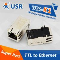 Buy cheap [USR-K1] Super port, Embedded TTL to Ethernet server TCP/IP module from wholesalers