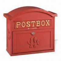 Wholesale Mail Box, Available with 29.5 x 4.5 and 17.5 x 34cm Door Size from china suppliers