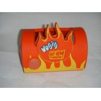 Wholesale OEM soft PVC with embossed logo mobile holder for promotion gift from china suppliers