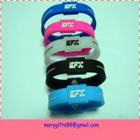 Wholesale fashion colorful balance silicon power bracelet from china suppliers