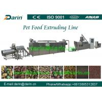 Wholesale High Efficiency Automatic pet food extrusion process Line stainless steel from china suppliers