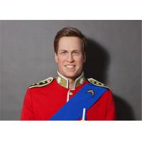 Popular United Kingdom Celeb Wax Figures Mannequin Of Prince William Britain