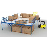 Wholesale High Grade Steel Mezzanine FloorHeavy Load Max 4000mm Beam Length from china suppliers
