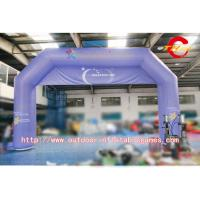 Wholesale Commercial Font Printing Promotion PVC Inflatable Entrance Arch 2 - 3 Years Warranty from china suppliers
