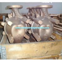 Quality CAD / CAM  CAE casting pump spare parts ISO9001 / BV with polishing, sand blasting for sale