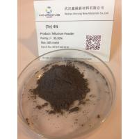 Wholesale Non-Ferrous Metals Tellurium Metal Powder 200 Mesh for Thermal Analysis Cups Manufacturer from china suppliers