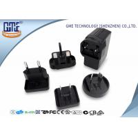 Wholesale Black EU US UK AU Plug 5V 2A USB Universal Travel Adapter for Visual Products from china suppliers