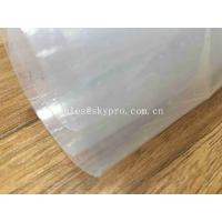 Quality Transparent Sticky Silicone Rubber Sheet Rolls Medical Grade Customized for sale