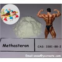 Wholesale Muscle Building Steroids Methasteron Superdrol (17A-Mrerhyl-Ddrostanolone) Steroid Powder from china suppliers