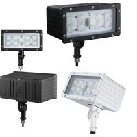 Wholesale Industrial Commercial Outdoor LED Flood Light Fixture 45W 100Lm/w Kunckle Installation from china suppliers