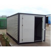 Wholesale prefab storage modular warehouse sandwich panel container houses from china suppliers