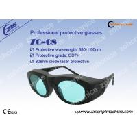 Wholesale Laser safety goggle glasses 808nm for Alaxandrite and Diode Laser protection from china suppliers