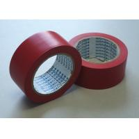 Wholesale Red Flame Retardant Tape , Low Peel Strength Electrical Insulating Tape from china suppliers