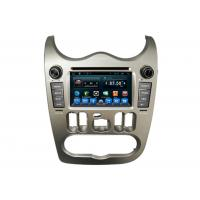 Wholesale Auto DVD Radio Player Car GPS Navigation System for Renault Logan with Usb GPS Wifi from china suppliers