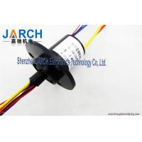 Wholesale 4 Circuits / Wres 30A Wind Turbine Slip Ring / Capsule Slip Ring With 250mm Lead Length from china suppliers