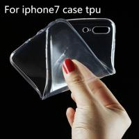 Wholesale Ultra Thin Clear Crystal Transparent TPU Soft Cell Phone Covers For IPhone 7 Case from china suppliers