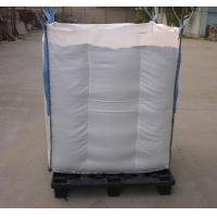 Wholesale Net Baffle Formed big bag Q Bags for soybean / corn packing from china suppliers
