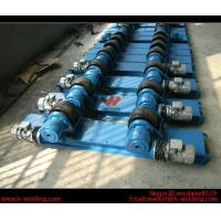 Wholesale Bolt Adjustable Fit Up Pipe Welding Rotator For Shell 2T - 60 Ton Tank Rotator Equipment from china suppliers
