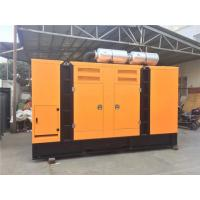 Wholesale Cummins 100 KW Silent Diesel Generator With Charging Alternator / Exhaust Silencer from china suppliers