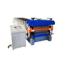 Wholesale 925 mm galvanized metal roofing panel double deck roll forming machine from china suppliers