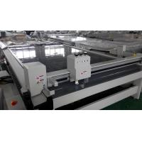 Quality Paper Box Cutter machine automatic drawing creasing cutting servo motor for sale