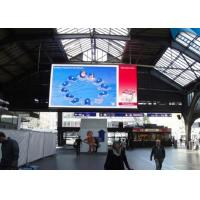 Wholesale 1/4 Scan Indoor Ultra Thin LED Display P10 Full Color Advertising from china suppliers