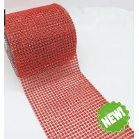 Wholesale 5 yards 10 yards Sew on Plastic Rhinestone Mesh Trimming Wholesale For Wedding Decors from china suppliers