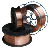 Buy cheap Welding Material Copper-Coated CO2 Gas Shielded Welding Wire (AWS 5.18 ER70S-6) from wholesalers