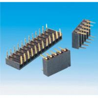 Wholesale Server Connector Equal Samtec Header Pin Connectors 0.1 Inch Vertical Dual Rows from china suppliers