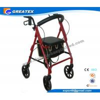 Wholesale Lightweight folding rollator 4 wheel walker , folding walking frames for the elderly from china suppliers