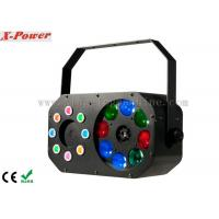 Wholesale 8 x 3W Disco Party Lights Gobo Effect With Laser RGBW / Built-in Programmer from china suppliers