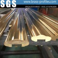 Wholesale Copper Zinc Pb Composite Materials Handrail Polishing Brass Handrail from china suppliers