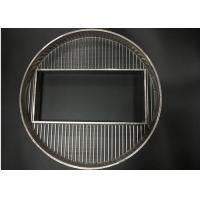 Wholesale Custom manufactured & designed of wedge wire screens for industrial applications from china suppliers