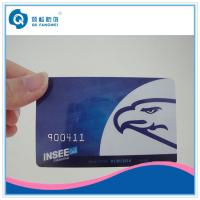 Wholesale CR80 PVC Card With Embossing Number Plastic Card Printing Serial Number from china suppliers