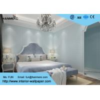 Wholesale Blue Geometric Pattern Modern Removable Wallpaper , Kids Bedroom Wallpaper from china suppliers