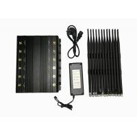 Wholesale 12 Bands High Power Adjustable Stationary Electronic Jamming Device, 2 watts Jammer for Security Use from china suppliers