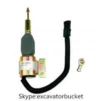 Wholesale Shutdown solenoid for heavy machinery volvo, caterpillar, jcb, cummins and so on from china suppliers