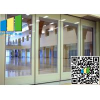 Wholesale 3.35 Inch Paired Sliding Folding Glass Room Partitions Singapore from china suppliers