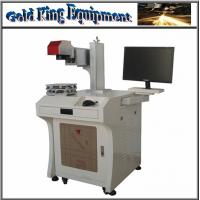 Wholesale GK-20W Fiber laser marking machine for non-metal and metal materials from china suppliers