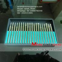 Wholesale Diamond mounted points for gems/diamond grinding sticks  sarah@moresuperhard.com from china suppliers