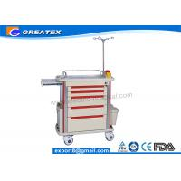 Buy cheap Luxurious Emergency Hospital Equipment Medical Trolley Cart For Delivering Medicine from wholesalers