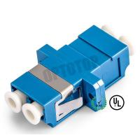 Wholesale LC UPC Duplex Fiber Optic Adapter  Single Mode For Connecting LC / UPC to LC / UPC from china suppliers
