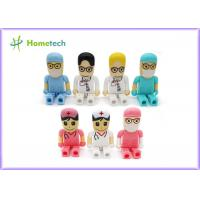 Wholesale Mini gift Character USB Drives 64gb pendrive doctor nurse cartoon from china suppliers