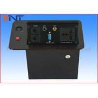 Wholesale Pop Up Hidden Desktop Power Sockets For Conference Room Table AV Solutions from china suppliers