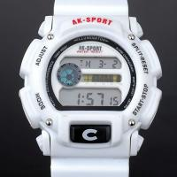 Wholesale Silver Date / Alarm Waterproof Swimming Watches Water Resistant 30m from china suppliers