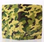 Army Green Camouflage 3D Travel Passport Holder